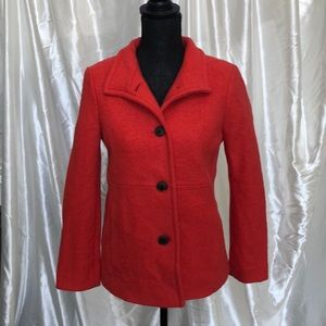 Lands End wool coat size 12